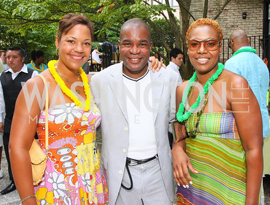Stacie Turner, George Worrell, Danita Doleman, Photograph by Tony Powell