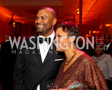Jason Turner and Stacie Turner. Alvin Ailey Gala. The Kennedy Center. February 2, 2010. photos by Tony Powell