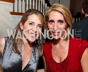 Jessica Yellin and Dana Bash. Goldman Sach's 10,000 Women event at Juleanna Glover Weiss' residence for The Rebecca Project. November 14, 2009. photos by Tony Powell