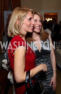 Dana Bash and Jessica Yellin. Goldman Sach's 10,000 Women event at Juleanna Glover Weiss' residence for The Rebecca Project. November 14, 2009. photos by Tony Powell