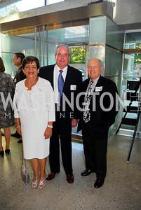 Kyle Samperton,September 13.2010,Reception at Arena Stage,Lucy Swab,William Swab.Tom Mansbach