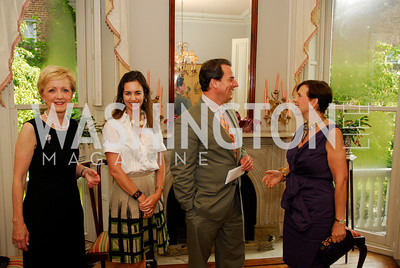 Kyle Samperton,July 29.2010,Reception For Ann Stock,Ann Stock,Gwen Holliday,Stuart Holliday,Adrienne Arsht