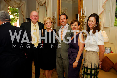Kyle Samperton,July 29,2010,Reception For Ann Stock,David Abshire ,Ann Stock,Syuart Holliday,Adrienne Arsht,Gwen Holliday