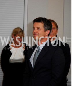 Kyle Samperton,June 3,2010, ,Reception in honor of T.R.H.the Crown Prince and Princess of Denmark,Meridian Center, Crown Prince Frederik of Denmark