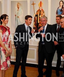 Kyle Samperton,June 3,2010,Reception in honor of T.R.H.the Crown Prince and Princess of Denmark,Meridian Center, Crown Princess Mary of Denmark,Crown Prince Frederik of Denmark,Torben Jeppesen,