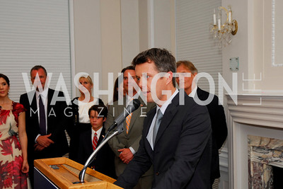 Kyle Samperton,June 3,2010,Reception in honor of T.R.H.the Crown Prince and Princess of Denmark,Meridian Center,  Crown Princess Mary of Denmark,Crown Prince Frederik of Denmark,Stuart Holliday,Friss Peterson,