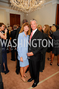Kyle Samperton,June 3,2010, Reception in honor of T.R.H.the Crown Prince and Princess of Denmark,Meridian Center, Tammy Collins,John Collins,