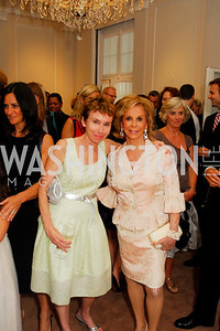 Kyle Samperton,June 3,2010, Reception in honor of T.R.H.the Crown Prince and Princess of Denmark,Meridian Center, Meryl Chertoff,Wilma Bernstein,