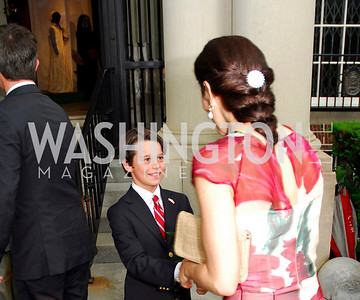 Kyle Samperton,June 3,2010,Reception in honor of T.R.H.the Crown Prince and Princess of Denmark,Meridian Center, Henry Holliday, Crown Princess Mary of Denmark,