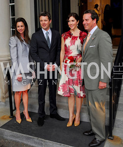 Kyle Samperton,June 3,2010,Reception in honor of T.R.H.the Crown Prince and Princess of Denmark,Meridian Center,Gwen Holliday,Crown Prince Fredrik of Denmark,Crown Princess Mary of Denmark,,Stuart Holliday,