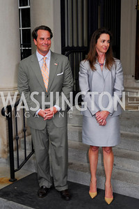 Kyle Samperton,June 3,2010,Reception in honor of T.R.H.the Crown Prince and Princess of Denmark,Meridian Center, Stuart Holliday,Gwen Holliday.