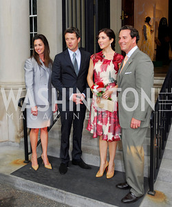 Kyle Samperton,June 3,2010, Reception in honor of T.R.H.the Crown Prince and Princess of Denmark,Meridian Center,Gwen Holliday,Crown Prince Fredrik of Denmark,Crown Princess Mary of Denmark,,Stuart Holliday,