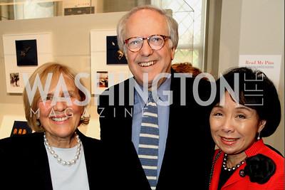 Evelyn Lieberman, Robert Barnett, Rep. Doris Matsui (D-CA)
