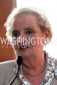 Madeleine Albright, Professor of International Relations at Georgetown University's Walsh School of Foreign Service and former Secretary of State