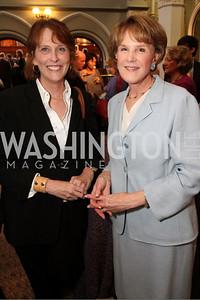 Marcia Hale, PBS Newshour Senior Correspondent Margaret Warner
