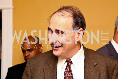Photo by Tony Powell. David Axelrod. Richard Wolffe Book Party. November 30, 2010