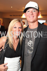 Washington National's Tyler Clippard. Ryan Zimmerman's A Night at the Park. Photos by Alfredo Flores