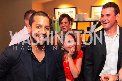 David Blaine. Ryan Zimmerman.  Ryan Zimmerman's A Night at the Park. Photos by Alfredo Flores