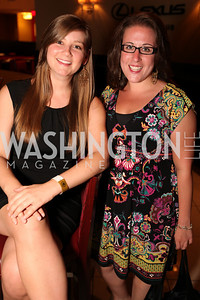 National M.S. Society's Emily Rouse and Liza Levenson. Ryan Zimmerman's A Night at the Park. Photos by Alfredo Flores