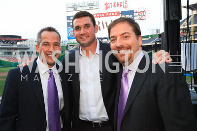 Winston Lord. Ryan Zimmerman. Chuck Todd. Ryan Zimmerman's A Night at the Park. Photos by Alfredo Flores