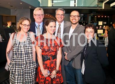 "Photo by Tony Powell. Rachel Grady, Ray Barry, Heidi Ewing, Clark Bunting, Chad Troutwine, Nancy Harris. Opening Night of SilverDocs: ""Freakonomics"". June 21, 2010"