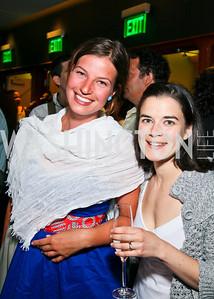 "Photo by Tony Powell. Juliana Piecha, Theresa Dahlman. Opening Night of SilverDocs: ""Freakonomics"". June 21, 2010"