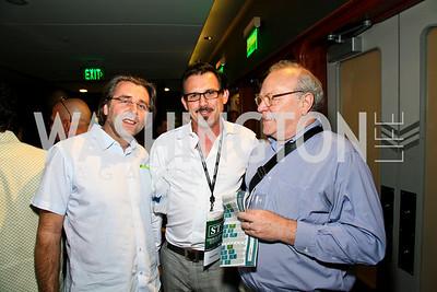 "Photo by Tony Powell. Neil Barrett, Frank Cordes, Scott Willis. Opening Night of SilverDocs: ""Freakonomics"". June 21, 2010"