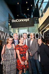 "Photo by Tony Powell. Rachel Grady, Ray Barry, Heidi Ewing, Clark Bunting, Chad Troutwine, Nancy Harris. Opening Night of SilverDocs: ""Freakonomics"". June 21, 2010"