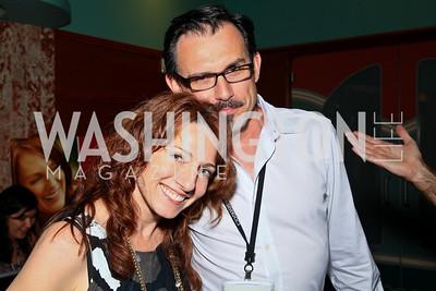 "Photo by Tony Powell. Jody Arlington, Frank Cordes. Opening Night of SilverDocs: ""Freakonomics"". June 21, 2010"