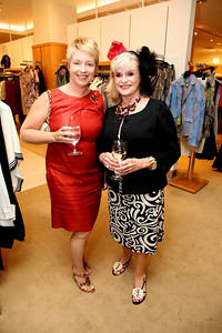 Evonne Connolly, Clara Register. Saks Jandel Washington Ballet Fashion Event. April 28th, 2010. Photos by Samantha Strauss.