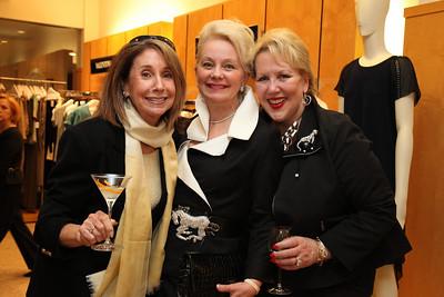 Betsy Grossman, Marsha Nelms-Muawwad, Carol Margaret Randolph. Saks Jandel Washington Ballet Fashion Event. April 28th, 2010. Photos by Samantha Strauss.