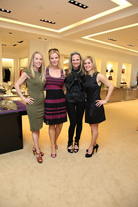 Cindy Jones, Susanna Quinn, Jamie Dorros, Stacey Lubar. Saks Jandel Washington Ballet Fashion Event. April 28th, 2010. Photos by Samantha Strauss.
