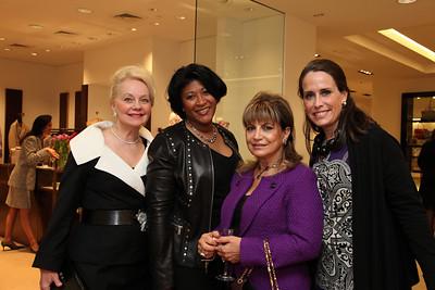 Tracy Ellis, Annie Totah, Gisell Buster, Carol Margaret Randolph. Saks Jandel Washington Ballet Fashion Event. April 28th, 2010. Photos by Samantha Strauss.