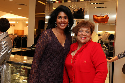 Yolanda Townsend, Georgia Buchanon. Saks Jandel Washington Ballet Fashion Event. April 28th, 2010. Photos by Samantha Strauss.