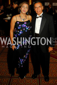 Vera Chawla,Inder Chawla,Sibley Gala ,October 30,2010