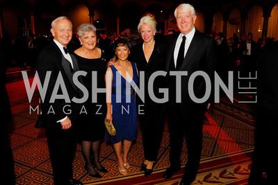 Bob Sloan,Cherrie Doggett,Janet Sloan,Susan Harreld,Mike Harreld,Sibley Gala ,October 30,2010,Kyle Samperton