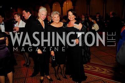 Sue Harreld, Cherrie Doggett, Grace Bender, Sibley Gala, October 30, 2010, Kyle Samperton