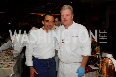 Kyle Samperton, October 26, 2010, Signature Chef's Auction, Xavier Deshayes, Shaun McCarty