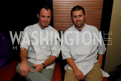 Kyle Samperton, October 26,2010, Signature Chef's Auction,Dennis Marron,Brian Turowski