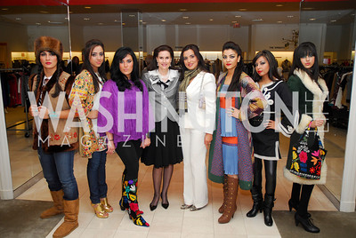 Alexandra deBorchgrave, Mariam Atash Nawabi.Silk Road Style at Saks. December 12,2009. Photo by Kyle Samperton.