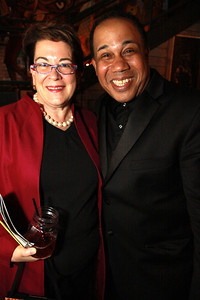 Molly Smith, Artistic Director, Arena Stage and David Alan Bunn, Musical Director, Duke Ellington's Sophisticated Ladies