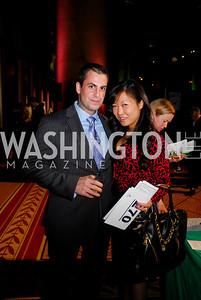 Michael Fanone, Hsin-Yi Wang. St. Judes Gourmet Gala. February 16, 2010. Photo by Kyle Samperton.
