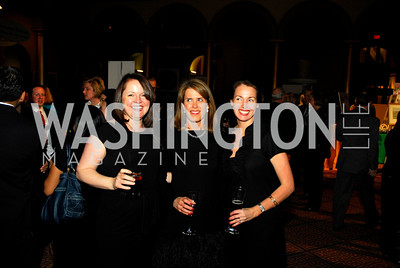 Claudia Callaway, Alison Shaw, Kerry Stroup.St. Judes Gourmet Gala. February 16, 2010. Photo by Kyle Samperton.