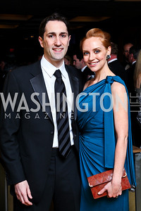 "Photo by Tony Powell. Michael and Jennifer DeSimone. Starlight ""Bedtime Bash"". Four Seasons Hotel. November 20 2010"