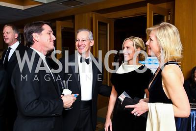 "Photo by Tony Powell. John Chachas, David and Jennifer Gerson, Elizabeth Dougherty. Starlight ""Bedtime Bash"". Four Seasons Hotel. November 20 2010"