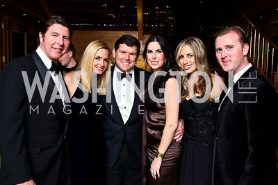 "Photo by Tony Powell. Bruce and Sharon Bradley, Bret and Amy Baier, Amy and Tripp Donnelly. Starlight ""Bedtime Bash"". Four Seasons Hotel. November 20 2010"