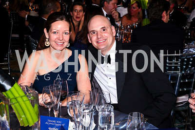 "Photo by Tony Powell. Gala Co-Chair Robin Moore and Richard Moore. Starlight ""Bedtime Bash"". Four Seasons Hotel. November 20 2010"