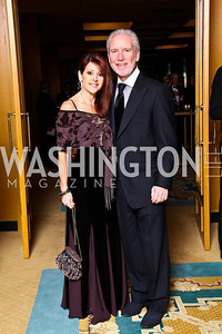 "Photo by Tony Powell. Arlene and Robert Schattner. Starlight ""Bedtime Bash"". Four Seasons Hotel. November 20 2010"