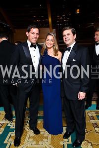 "Photo by Tony Powell. Lindsay Stroud, Kathleen and Joseph Calahan. Starlight ""Bedtime Bash"". Four Seasons Hotel. November 20 2010"