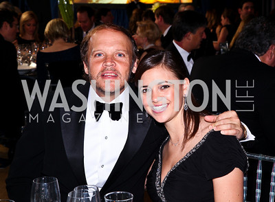 "Photo by Tony Powell. Mark Ein, Sally Stiebel. Starlight ""Bedtime Bash"". Four Seasons Hotel. November 20 2010"